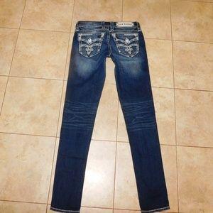 Rock Revival Essie Skinny Fleur Jeans 27